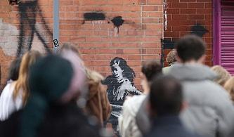 Banksy'nin Yeni Eseri 'Hulahop Çeviren Kız Çocuğu'