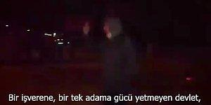 Ankara'ya Yürüyen Somalı Maden İşçisinin Karşısına Jandarma Çıkınca İsyan Etti: 'Öyle mi Alay Komutanı?'