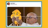 Twitter Goygoycuları Tarafından Papa Francis'in Fotoğrafına Yapılan Birbirinden Komik Monteler