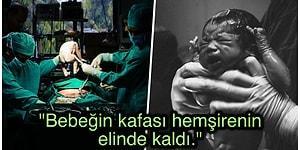 Hamile Kadının İhmal Sonucu Sezaryen Yerine Normal Doğuma Alınmasıyla Bebeğinin Başı Koptu!