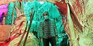 Denizli'deki Keloğlan Mağarası'nda Saçı Dökülenler Şifa Arıyor: 'Daha Gür Çıkar Diye Ümit Ediyorum'