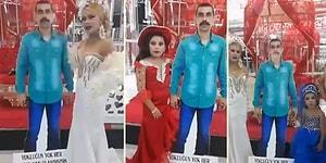 İnovasyon Desen Var: Cezaevinde Olan Babayı 2 Boyutlu Olarak Düğüne Taşıyan Roman Ailesi