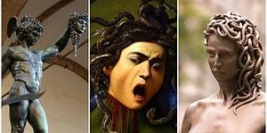 Poseidon Tarafından Tecavüze Uğradığı Yetmezmiş Gibi Canavara Dönüştürülüp Öldürülen Medusa'nın Hikayesi