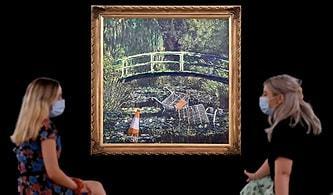 Ünlü Sokak Sanatçısı Son Açık Artırmayla Gündemde: Bansky'nin Monet'si 76 Milyon TL'ye Satıldı