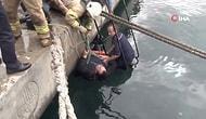 Kadıköy'de Denize Düşen Vatandaşa 'Koronavirüs Var' Diyerek El Uzatmadılar