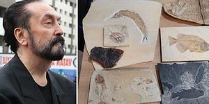 Adnan Oktar'ın Villasında Ele Geçirilen Milyonlarca Yıllık Fosiller Müzeye Teslim Edildi