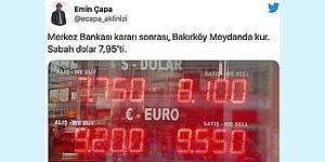 Faizleri Sabit Tutarak Türk Lirası'na Rekor Değer Kaybı Yaşatan Merkez Bankası Eleştirilerin Odağında