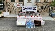 İzmir'de Kokoreççiye Sahte İçki Operasyonu