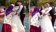 Düğün Günü de Bunu Yapmazsın! Geline Kızan Annesi, Gelinin Başörtüsünü Çekip Attı