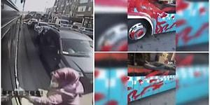Otobüse Alınmayınca Şoföre Kızdı, Aracı Yumrukladı, Takip Edip Kırmızıya Boyadı