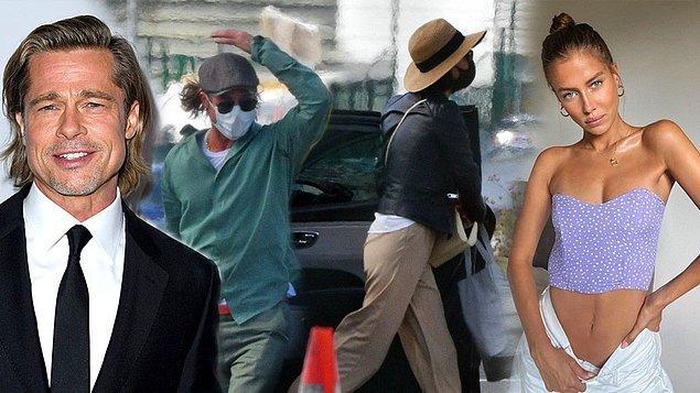 Geçtiğimiz ağustos ayında Brad Pitt, Alman model Nicole Poturalski ile birlikte özel jetle Güney Fransa'ya uçarken görüntülenmişti.