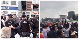 İzmir'de 'Yaşamak İstiyoruz' Diyen Vatandaşları Gözaltına Alan Polis İstanbul'da Cihatçıları Seyretti