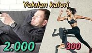 Bir Saat Aralıksız Koşup Anca 300 Kalori Yakarken Hiçbir Şey Yapmadan 2.000 Kaloriyi Nasıl Yakıyoruz?