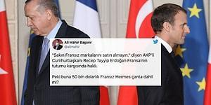 Nasıl Değiştirdim Ama Gündemi: Erdoğan'ın Fransız Mallarını Boykot Çağrısı Tepkilerin Odağında