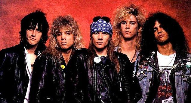 3. Guns N' Roses