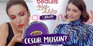 """""""CESUR KIZLARIN MAKYAJI!"""" Beaulis Makyajın Anlatsın 5. Bölüm W Meryem Can Melodi Elbirliler"""