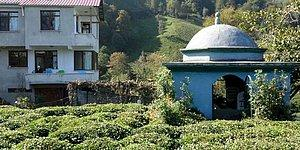 Rize'de Bir Vatandaş Kendine Türbe Gibi Mezar Yaptı
