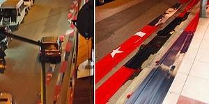 Valilik Soruşturma Başlattı: Manisa Alaşehir'de Türk Bayrakları Caddeye Serildi Araçlar Üstünden Geçti