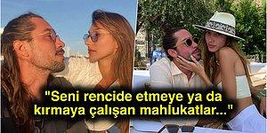 Yiğit Marcus Aral Sevgilisi Şevval Şahin'i Eleştirenlere 'Karşılarında Beni Bulacaklar' Diyerek Meydan Okudu