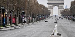 Fransa'da 30 Ekim İtibarıyla Sokağa Çıkma Kısıtlaması Uygulanacak