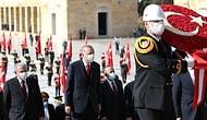 Cumhuriyet'in 97. Yılında Devlet Erkanından Anıtkabir Ziyareti