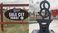 Ankara Büyükşehir Belediyesi Ahlatlıbel'de Bir Parka Şule Çet Adını Verdi: Parkta, Şiddet Kurbanı Kadınlar İçin Anıt Koyuldu