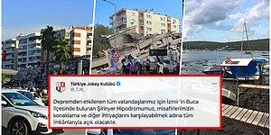 Kenetlenmenin Tam Zamanı! İzmir'deki Depremin Ardından Kapılarını Açanlar ve Yardım Çağrılarına Tepkisiz Kalmayanlar