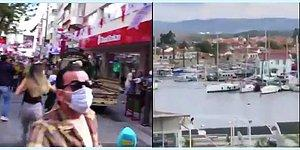 İzmir'in Dört Bir Yanından Kameralara Yansıyan Deprem Anı Görüntüleri