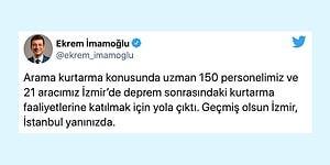 Seninleyiz İzmir! Belediyeler Deprem Bölgesine Yardım Göndermek İçin Seferber Oldu