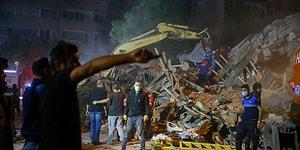Canlı Anlatım | İzmir'de 6.6 Büyüklüğünde Deprem: 12 Can Kaybı, 552 Yaralı