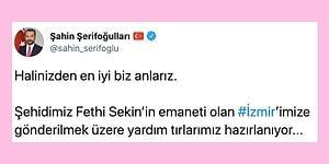 İzmir'e En Anlamlı Yardımlardan Biri Elazığ'dan Geldi