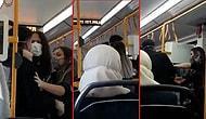 2020 Türkiye'sinden Bir Kesit: Metroda Birbirlerine Sarılan Sevgililere 'Kötü Örnek Oluyorsunuz' Diyerek Saldırdı