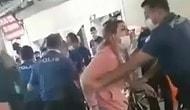 Maske Cezası Yazmak İsteyen Polise Saldıran Çift Kamerada