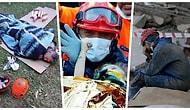 Minnettarız! İzmir Depreminin Ardından Canla Başla Çalışan Kurtarma Ekiplerinin Mücadelesini Gözler Önüne Seren Kareler