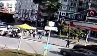 İzmir'de Meydana Gelen Depremde Rıza Bey Apartmanının Yıkılma Anının Görüntüleri Ortaya Çıktı