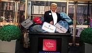 Berlin'deki Madame Tussauds Müzesi Trump Heykelini Çöpe Attı