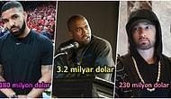 Hızlı Konuştukları Kadar Zenginler! 2020 Yılında Dünyanın En Çok Para Kazanan 19 Rapçisi