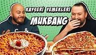 Kayseri Yemekleri MUKBANG: Sevval Şahin, Hasan Can Kaya, Kafalar, Nusret, Sadakatsiz