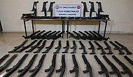 MSB: Hudut Hatlarında 60 Pompalı Tüfek, 2 Bin 500 Av Tüfeği Fişeği Ele Geçirildi