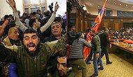 Halk Hükümet Binasını Bastı: Ermenistan'ın Dağlık Karabağ'da Savaşı Kaybettiğini İlan Etmesinin Ardından Protestolar Başladı