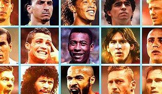 Bu Efsane Futbolcuların Hangi Takımda Oynamadıklarını Bilebilecek misin?