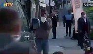 NTV, Toplu Alanda Sigara İçme Yasağı ile İlgili Haber Yaparken Üsküdar'da Kadraja Bali Çektiği İddia Edilen Adam Girdi