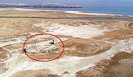 Van Gölü'nde Sular Çekilince Tarihi Kale Ortaya Çıktı: 'Restorasyon Gerekli'
