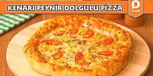 Dışarda Severek Yediğimiz Pizzayı Evde Yapmak Çok Kolay! Kenarı Peynir Dolgulu Pizza Nasıl Yapılır?