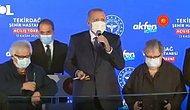 Açılışta Alkış Gelmeyince Cumhurbaşkanı Erdoğan: 'Bu Ne ya Ölü Toprağı Serilmiş Üstünüze, Allah Allah'