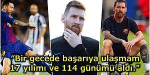 Sahaların Sevilen İsmi Lionel Messi'den Bir Köşeye Mutlaka Not Etmeniz Gereken Başarı Dersleri
