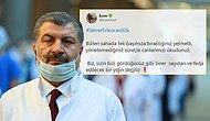 Sağlık Çalışanları Sosyal Medyada Fahrettin Koca'nın İstifasını İstiyor