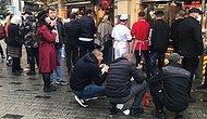 'Gel-Al' Uygulamasına Geçildi, Taksim'de Restoranların Önü Doldu Taştı
