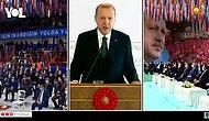 Erdoğan'dan Kendisini Dinleyen Kalabalığa Tepki: 'Eskiden Salonlar Alkışlarla İnlerdi'