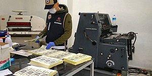 Matbaada 1 Milyon 352 Bin Sahte Dolar Basan 6 Kişi Tutuklandı